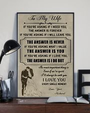 Make it the meaningful message to your wife 11x17 Poster lifestyle-poster-2