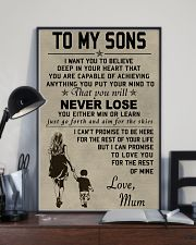 Make it the meaningful message to your sons 11x17 Poster lifestyle-poster-2