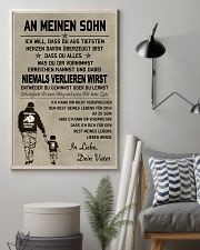 Make it the meaningful message to your son vDE 11x17 Poster lifestyle-poster-1