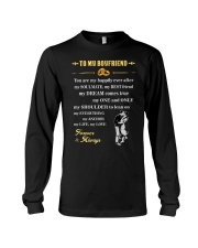 Make it the meaningful message to your boyfriend Long Sleeve Tee thumbnail