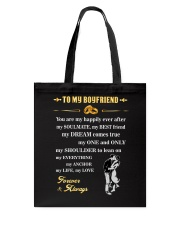 Make it the meaningful message to your boyfriend Tote Bag thumbnail