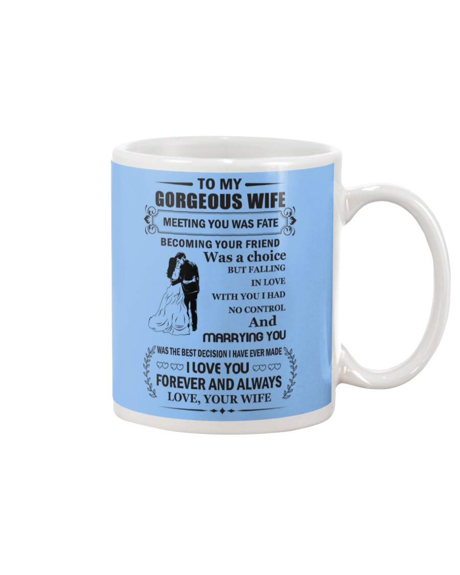Make it the meaningful message to your wife Mug