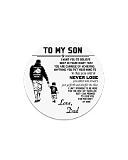 Make it the meaningful message to your son Circle Magnet thumbnail
