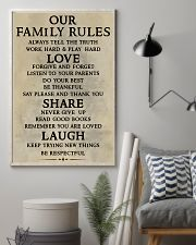 Make it the meaningful message to your family 11x17 Poster lifestyle-poster-1