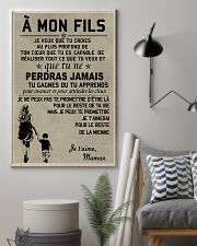 Make it the meaningful message to your son FR 11x17 Poster lifestyle-poster-1