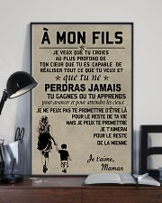 Make it the meaningful message to your son FR 11x17 Poster lifestyle-poster-2