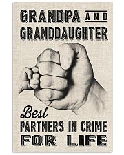 grandpa and granddaughter 11x17 Poster front