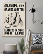 grandpa and granddaughter 11x17 Poster lifestyle-poster-1