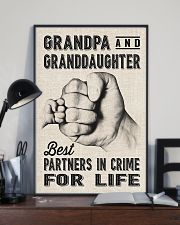 grandpa and granddaughter 11x17 Poster lifestyle-poster-2