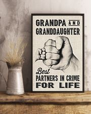 grandpa and granddaughter 11x17 Poster lifestyle-poster-3