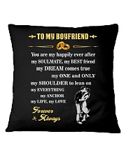 Make it the meaningful message to your boyfriend Square Pillowcase thumbnail