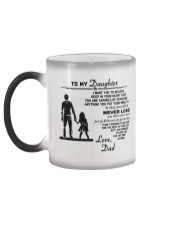 Make it the meaningful message to your daughter Color Changing Mug color-changing-left