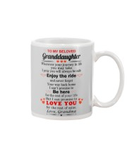 meaningful message to your granddaughter Mug tile