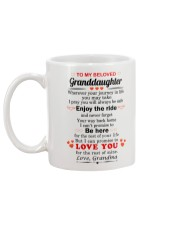 meaningful message to your granddaughter Mug back
