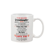 meaningful message to your granddaughter Mug front