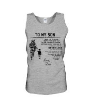 Make it the meaningful message to your son Unisex Tank tile