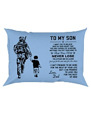 Make it the meaningful message to your son Rectangular Pillowcase tile