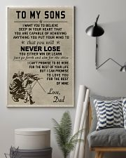 Make it the meaningful message to your sons 11x17 Poster lifestyle-poster-1