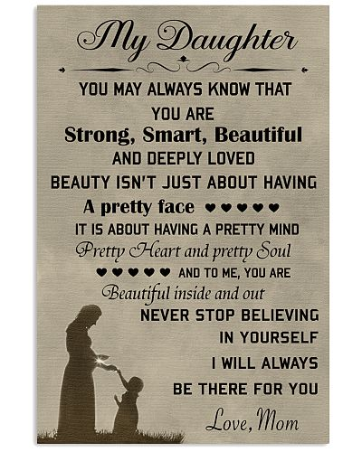 Make it the meaningful message to your daughter