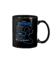 FAMILY MUG-GIRLFRIEND TO BOYFRIEND -YOU ARE BRAVER Mug thumbnail
