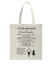 the meaningful message to your granddaughter Tote Bag thumbnail