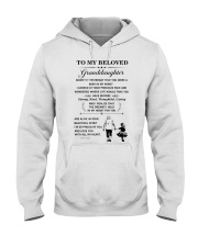 the meaningful message to your granddaughter Hooded Sweatshirt thumbnail