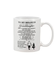 the meaningful message to your granddaughter Mug front