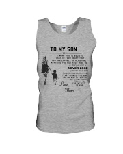 Make it the meaningful message to your son Unisex Tank thumbnail