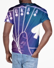Casino card shapes All-over T-Shirt aos-all-over-T-shirt-lifestyle-back-03