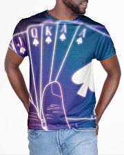Casino card shapes All-over T-Shirt aos-all-over-T-shirt-lifestyle-front-04