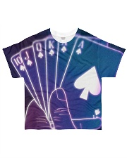 Casino card shapes All-over T-Shirt front