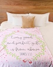 "Scriptures Blanket Gift Ideas-Little Girl-Daughter Large Fleece Blanket - 60"" x 80"" aos-coral-fleece-blanket-60x80-lifestyle-front-02"