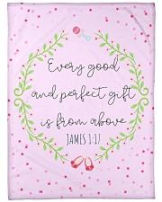 "Scriptures Blanket Gift Ideas-Little Girl-Daughter Large Fleece Blanket - 60"" x 80"" front"