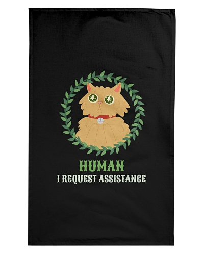 HUMAN I REQUEST ASSISTANCE FUNNY SHIRTS