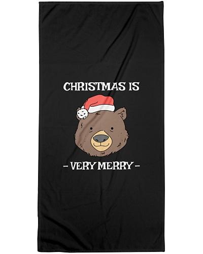 CHRISTMAS IS VERY MERRY FUNNY BEAR SHIRT