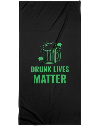 DRUNK LIVES MATTER FUNNY ST PATRICKS DAY TSHIRT