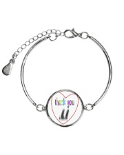 mother's day gift Metallic Circle Bracelet tile
