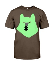 wolf Premium Fit Mens Tee front