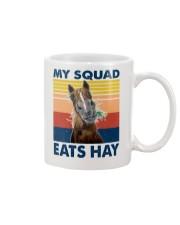 my squad eats hay Mug tile
