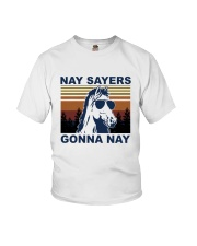 Nay Sayers Gonna Nay Youth T-Shirt tile