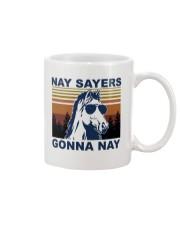 Nay Sayers Gonna Nay Mug tile