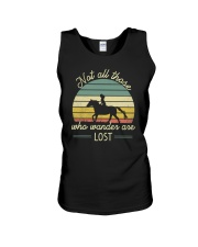 Not all those who vander are lost Unisex Tank thumbnail