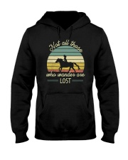 Not all those who vander are lost Hooded Sweatshirt thumbnail