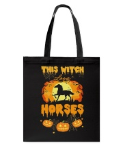 This Witch Love Horses Tote Bag thumbnail