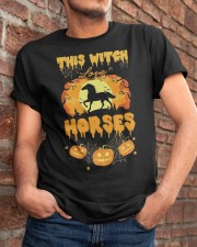 This Witch Love Horses Classic T-Shirt apparel-classic-tshirt-lifestyle-26