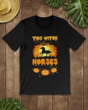 This Witch Love Horses Classic T-Shirt lifestyle-mens-crewneck-front-18