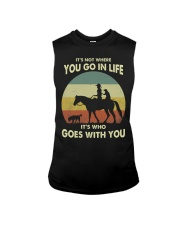 it's not where you go in life  Sleeveless Tee thumbnail