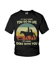 it's not where you go in life  Youth T-Shirt thumbnail