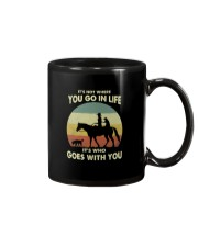 it's not where you go in life  Mug thumbnail