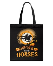 Witches With Horses Tote Bag thumbnail